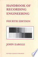 Handbook of Recording Engineering Book