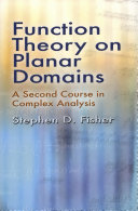 Function Theory on Planar Domains