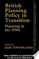 British Planning Policy