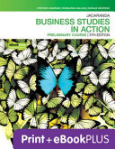 Cover of Jacaranda Business Studies in Action Preliminary Course 5E EBookPLUS and Print
