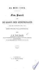 24 mei 1862. Een parel aan de kroon der gedenkdagen van het westelijk deel van Zeeuwsch-Vlaanderen