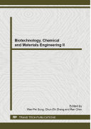 Biotechnology, Chemical and Materials Engineering II [Pdf/ePub] eBook