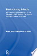 Restructuring Schools