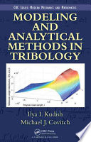 Modeling and Analytical Methods in Tribology