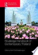 Routledge Handbook of Contemporary Thailand