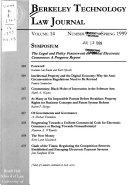 Berkeley Technology Law Journal