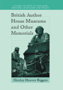 British Author House Museums and Other Memorials