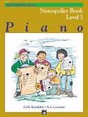 Alfred s Basic Piano Course Notespeller