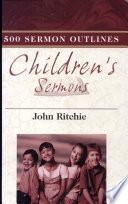 500 Children s Sermon Outlines