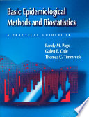 Basic Epidemiological Methods and Biostatistics
