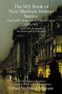 The MX Book of New Sherlock Holmes Stories - Part XXIV [Pdf/ePub] eBook