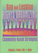 Gay and Lesbian Rights Organizing