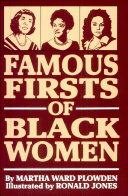Famous Firsts of Black Women Pdf/ePub eBook