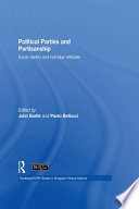 Political Parties and Partisanship  : Social Identity and Individual Attitudes
