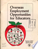 Overseas Employment Opportunities for Educators
