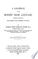 A Grammar Of The Modern Irish Language