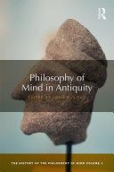Philosophy of Mind in Antiquity [Pdf/ePub] eBook