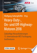Heavy-Duty-, On- und Off-Highway-Motoren 2018