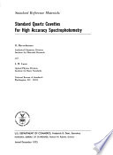 Standard quartz cuvettes for high accuracy spectrophotometry