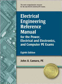 Electrical Engineering Reference Manual For The Power Electrical And Electronics And Computer Pe Exams Book PDF