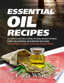 Essential Oil Recipes Book