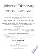 Universal Dictionary of the English Language: Rhe-Z