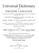 Universal Dictionary of the English Language