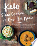 Keto Slow Cooker   One Pot Meals Book