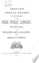 Annual Reports Liverpool City Libraries