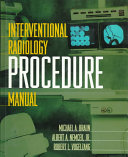 Interventional Radiology Procedure Manual