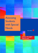 Assessing Students with Special Needs