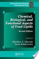 Chemical  Biological  and Functional Aspects of Food Lipids  Second Edition