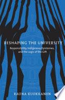 Reshaping the University