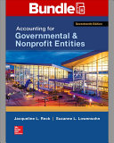 Loose Leaf for Accounting for Governmental   Nonprofit Entities with Connect