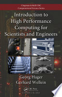 """""""Introduction to High Performance Computing for Scientists and Engineers"""" by Georg Hager, Gerhard Wellein"""