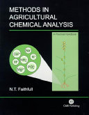 Methods in Agricultural Chemical Analysis