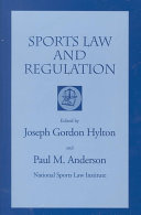 Sports Law and Regulation Book