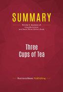 Summary: Three Cups of Tea