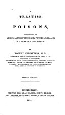 A Treatise on Poisons