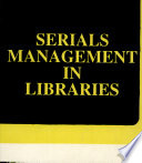 Serials Management In Libraries