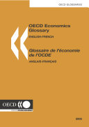 Pdf OECD Economics Glossary English-French Telecharger
