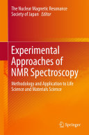 Experimental Approaches of NMR Spectroscopy Book