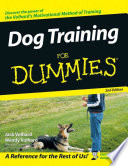 """Dog Training For Dummies"" by Jack Volhard, Joachim Volhard, Wendy Volhard"