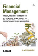 Financial Management Theory  Problems and Solutions