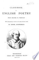 Class Book Of English Poetry From Chaucer To Tennyson