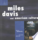 Miles Davis and American Culture