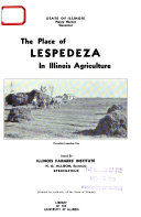 The Place of Lespedeza in Illinois Agriculture