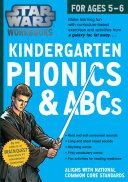 Star Wars Workbook, Kindergarten Phonics and ABCs