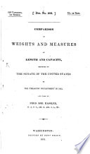 Comparison of Weights and Measures of Length and Capacity
