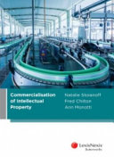 Cover of Commercialisation of Intellectual Property